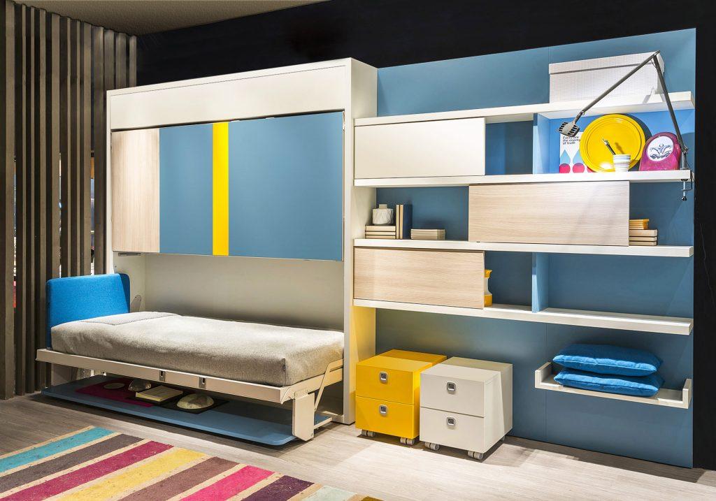 Letti a scomparsa clei e molteni progettazione e realizzazione sizedesign - Mobili letto a scomparsa prezzi ...