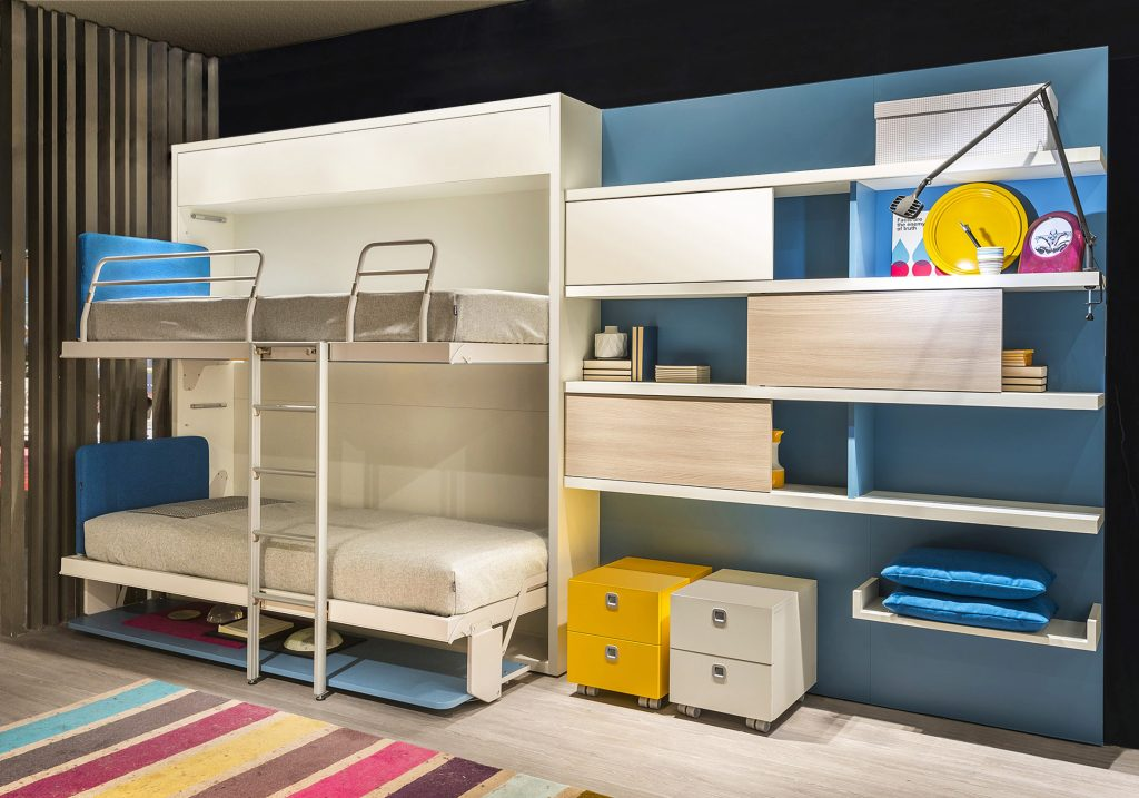 letti a scomparsa clei e molteni progettazione e realizzazione sizedesign. Black Bedroom Furniture Sets. Home Design Ideas
