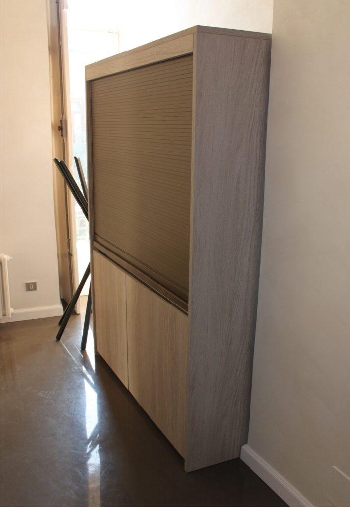Mini Cucine monoblocco a scomparsa, progettate per piccoli spazi
