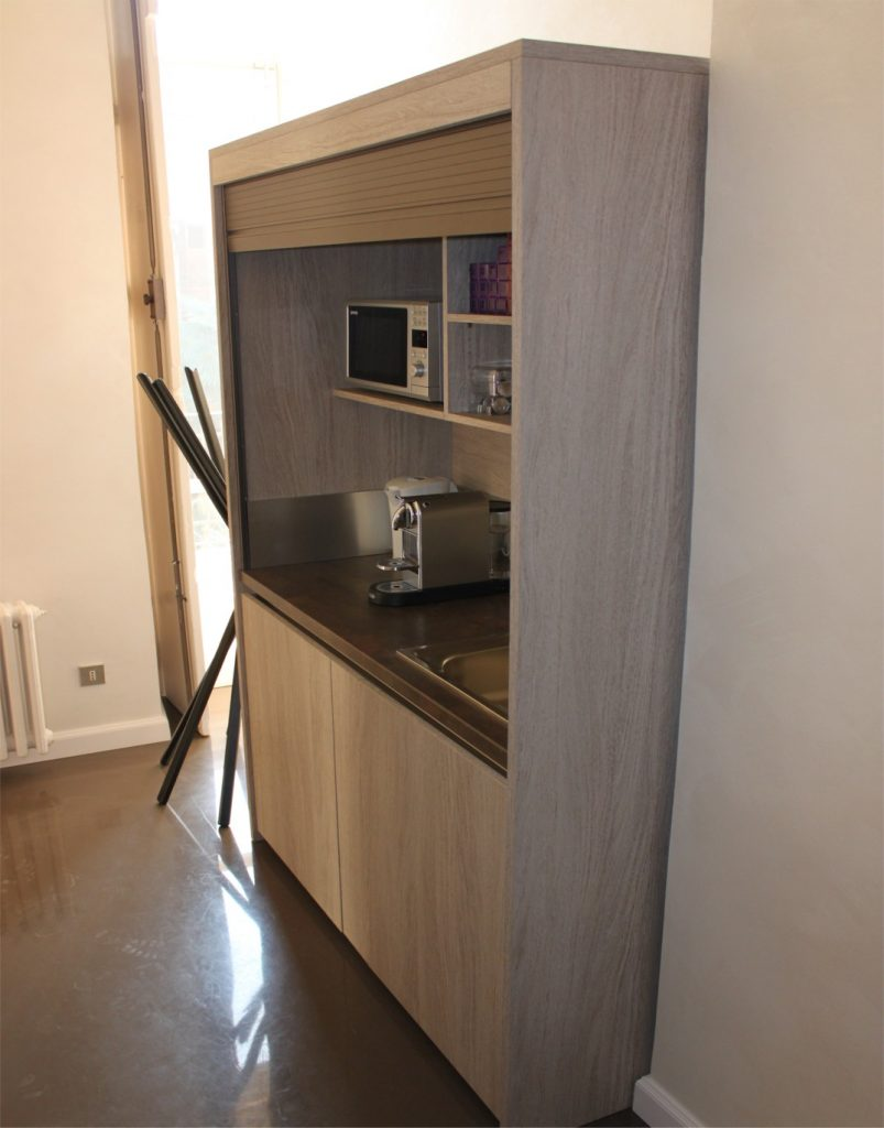 Mini Cucine A Scomparsa mini cucine monoblocco a scomparsa, progettate per piccoli spazi